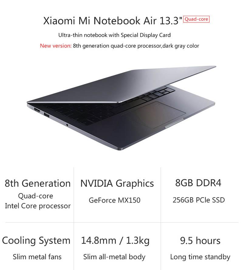 Xiaomi Mi Notebook Air 13.3